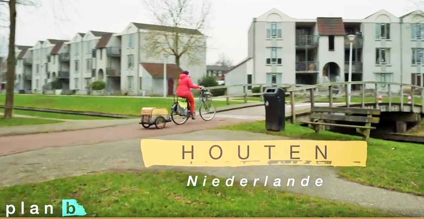 Houten in Germany for the afternoon